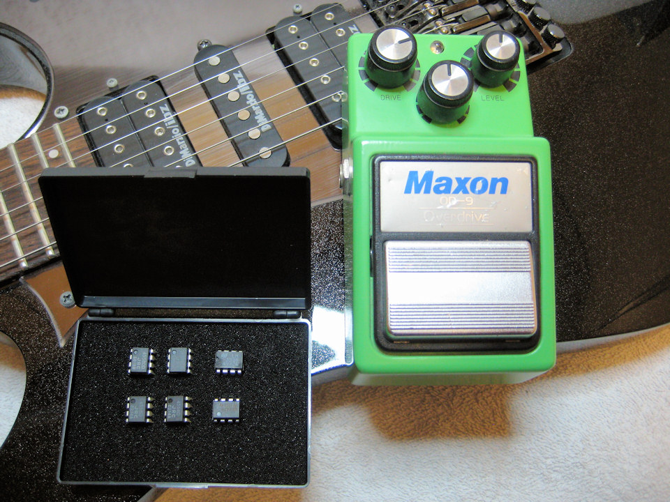 Chip Tuning für Maxon OD9 Overdrive Pedal